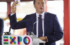 Renzi interviene a Milano per la Giornata dedicata alle Idee di Expo2015